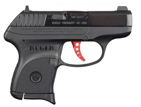 "Exclusive Build!!! Ruger LCP Cu tom Build Red-Anodized Skeletonized Aluminum Trigger 380 ACP, 2.75"" Barrel, 6+1 Rounds, Davidson's Exclusive 💲💲Cash$269.95 💲💲"