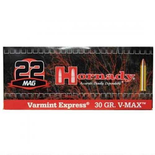 Hornady, Varmint Express, 22WMR, 30Gr, V-Max, 200 Rounds