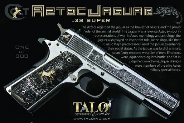 TALO Colt Aztec Jaguar Pre-Azul 38 Super - 1 of 300 Limited Edition # 276