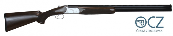"CZ-USA Redhead Premier Over/Under Shotgun 20 Gauge 28"" Barrels 3"" Chamber 2 Rounds Turkish Walnut/Prince of Wales Grip Receiver Silver Satin Chrome Barrel Gloss Black Chrome 06473"