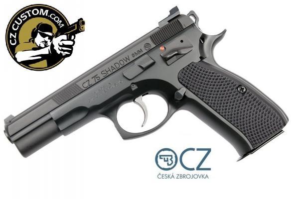 CZ 75 CS SHADOW TAC II 9MM ( CUSTOM SHOP )