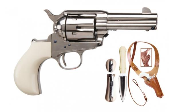 Cimarron, Doc Holliday Thunderer, Single Action, 45 LC, 3 5