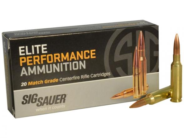 Sig Sauer, Elite Performance, 308 Win, 150 GR, FMJ, 2,900 FPS, 20 Rounds  Per Box