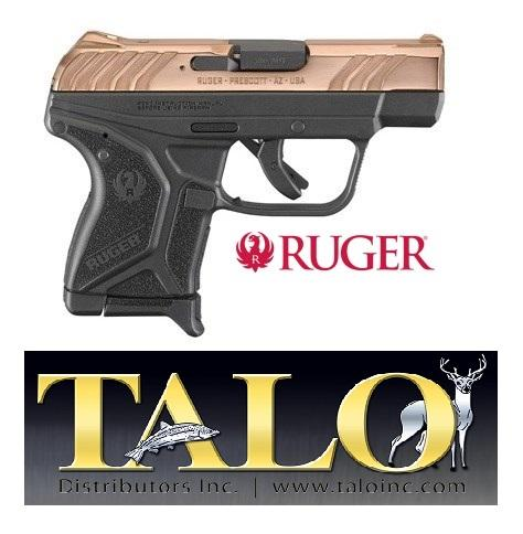 UNCATALOGUED: RUGER TALO LCP II 380ACP ROSE GOLD Limited Edition