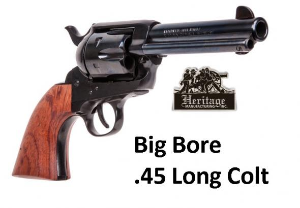 "Colt SAA Type Big Bore Rough Rider  .45 Long Colt 4-3/4"" Barrel Blue Finish 6 Round"