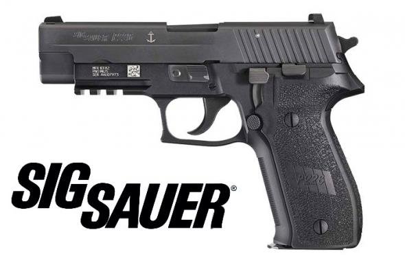 "Sig Sauer P226 MK-25 Semi-automatic 9MM 4.4"" Alloy Black 15Rd 3 Mags Phosphate components MK-25"