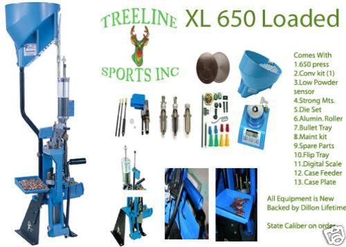 Treeline Sports Inc | Dillon Precision XL 650 Loaded Package Deal