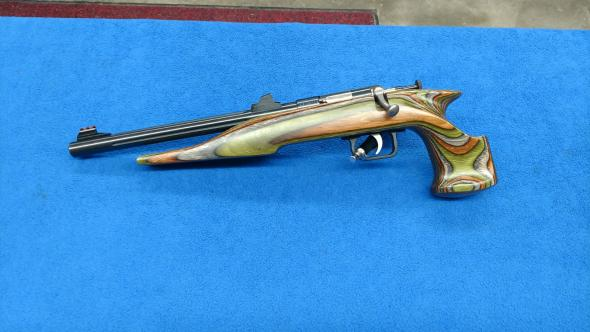 DAVEY CRICKETT KSA Chipmunk Silhouette Hunter  22LR