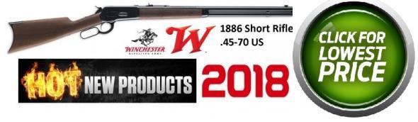 "Winchester Guns 1886 Short Lever 45-70 Government 24"" 8+1 Walnut"