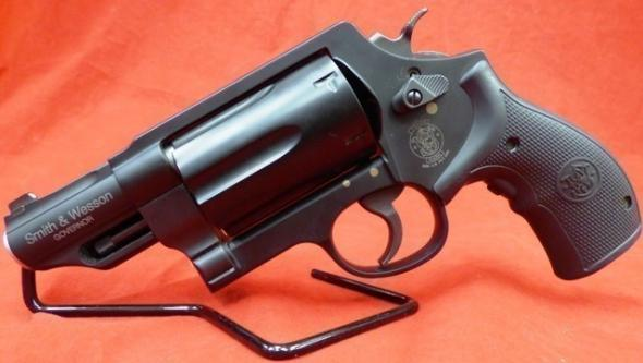 Smith and Wesson Governor with Crimson Trace Laser Grips