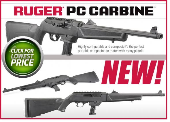 "Hot & New 2018 RUGER PC CARBINEâ""¢TAKE-DOWN 9mm"