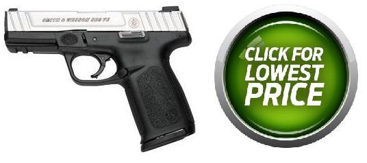 S&W M&P SD VE 9mm 4 Inch Barrel Two-Tone Finish Self Defense Trigger 17 Round