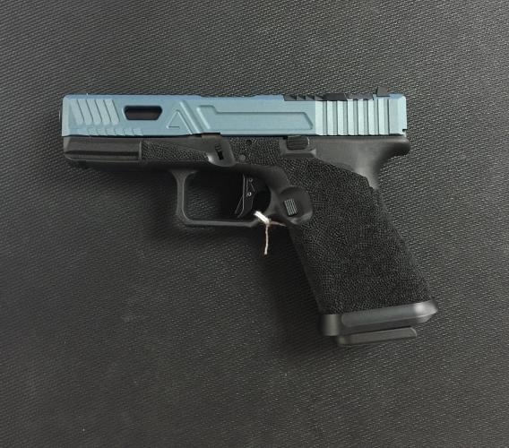 Agency Arms Glock 19 Gen 3 9mm Urban Combat Blue Slide