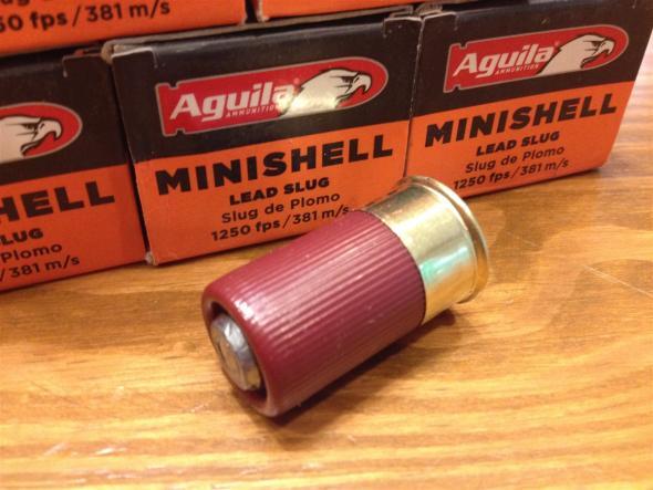 Aguila Minishell 12 Gauge 1.75 Inch 1250 FPS .875 Ounce Slug