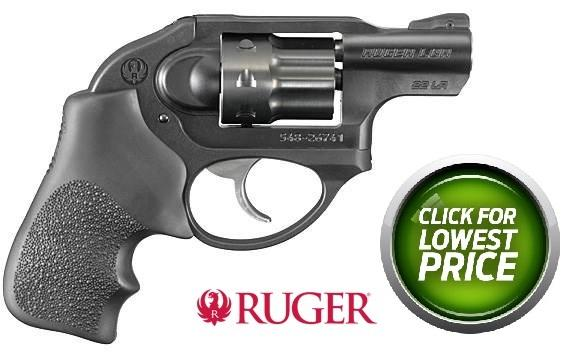 Ruger LCR Lightweight Compact Revolver .38 Special +P 1.875 Inch Barrel Matte Black Frame 5 Rounds