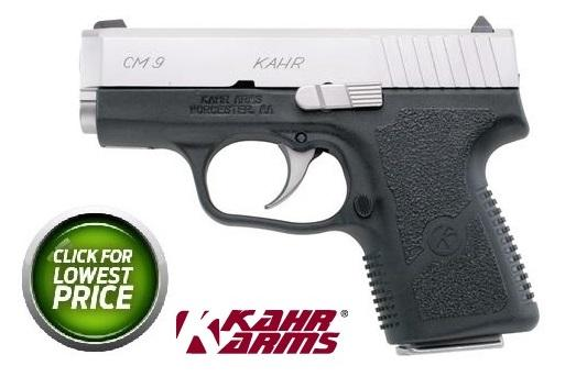 """Kahr Arms, CM9, Striker Fired, Compact Pistol, 9MM, 3"""" Barrel, Polymer Frame, Matte Stainless Finish, Fixed Sights, 6Rd, 1 Magazine 💲💲309.95💲💲"""