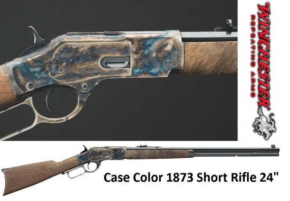 Winchester 1873 Sporter Lever Action Rifle 357 Mag 24