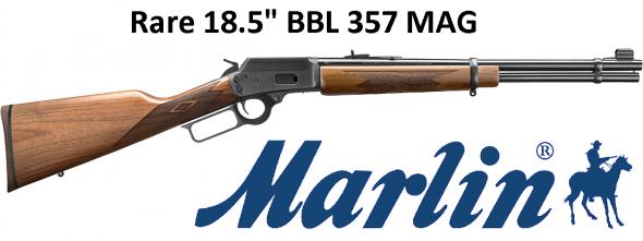 "Marlin 1894C Carbine 357 Mag 18.5"" BBL  9+1 American Walnut Stock Blued"
