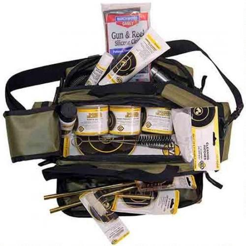 CVA Deluxe Range Cleaning Soft Kit 14 Piece Premium Muzzleloader Cleaning  Kit With Range Bag AA1721