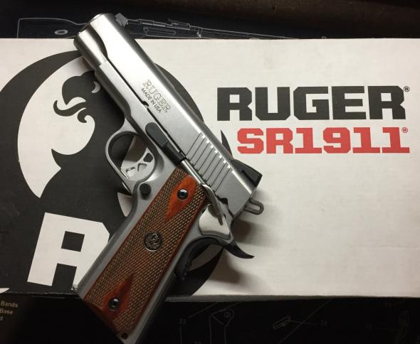 USED Ruger SR 1911 Commander with Trigger Job and Ambi Safety