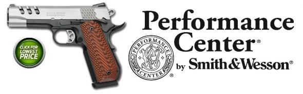 "S&W Performance Center 1911 Champion 45 ACP 4.25"" With Bob-Tail Grip"