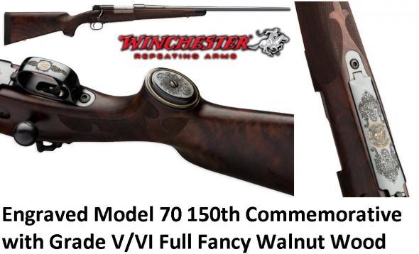 Winchester High Grade V/VI Model 70 Super Grade 150TH Commemorative 62 of 500 270 Win