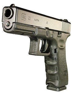 """Glock 22 Standard .40 S&W 4.49"""" 15+1 w/FS Poly Grip Black"""