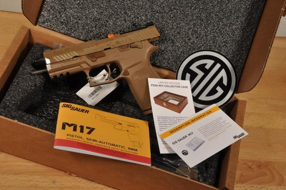 Sig Sauer M17 Commemorative 1 of 5000