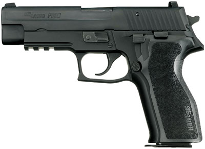 "Sig Sauer P226 Standard 9mm 4.4"" 15+1 Blue Poly Grip Black"
