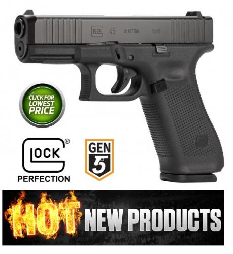 Hot 2019 Glock G45 Gen5.1 9MM - Standard Sights -19X Cousin