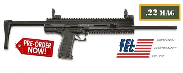 "PO DEPOSIT ONLY: Kel-Tec, CMR-30, Carbine, Semi-automatic, 22WMR, 16"" Barrel, Black Finish, Synthetic Stock, 30Rd"
