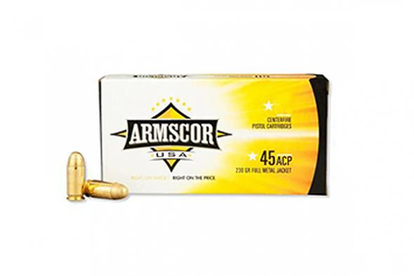 Armscor, Centerfire, 9mm, 115 Grains, 100 Rounds Per Box