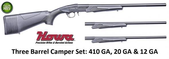 "HOWA / PUMA Puma Camper 12/20/410 Gauge Break Action 18.5"" Shotgun PBF1800376"