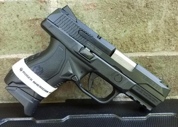 Ruger, American, Centerfire Pistol, 9MM, 3 55