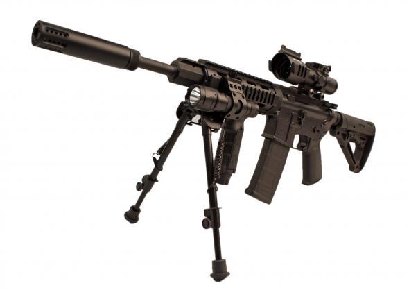DPMS AR-15 BADASS CUSTOM SHOP