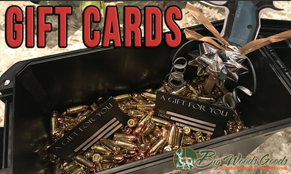 Big Woods Goods Gift Cards