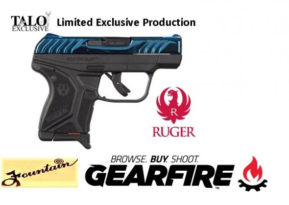 RUGER / TALO LCP II BRIGHT SAPPHIRE 380ACP - LIMITED PRODUCTION