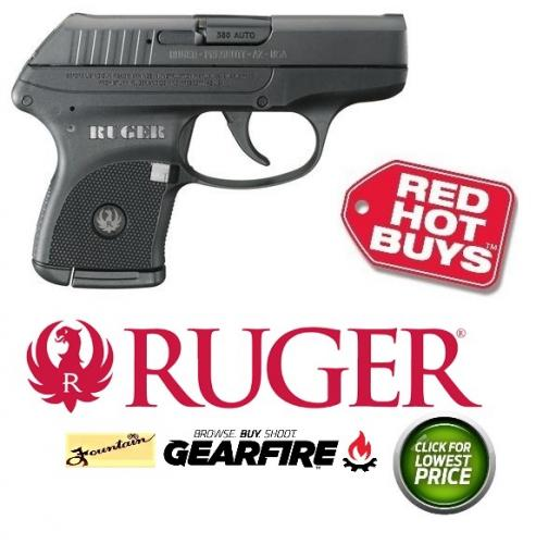 Ruger LCP .380 ACP Caliber 2.75 Inch Barrel Blue Finish 6 Round