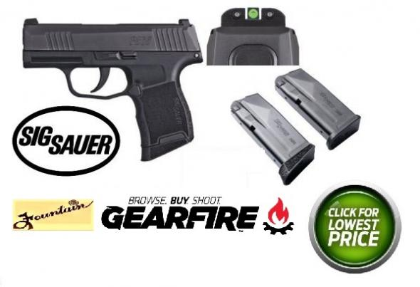 Sig Sauer 365-9-BXR3 P365 9mm 3in 10rd Black With XRAY Night Sight