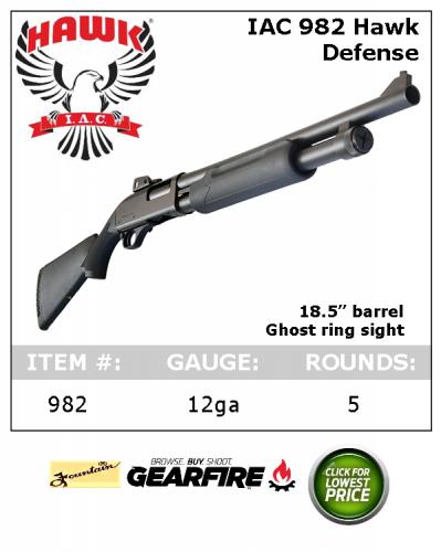 Interstate Arms Corp 982 Pump 12GA Shotgun