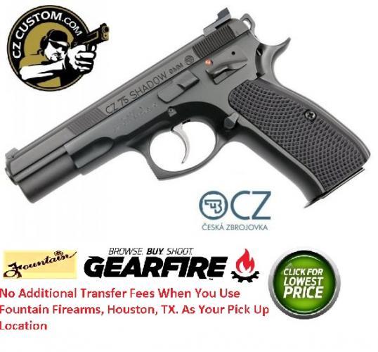 CZ 75 CS SHADOW TAC II 9MM ( CUSTOM SHOP ) 💲💲Cash $1249.95💲💲