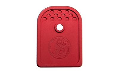 Battle Arms Development, Inc , Magazine Baseplate, Red Finish, Fits Glock  9MM Magazines