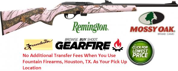 "Remington 597 ""Blaze Camo"" 22 Long Rifle 20"" 10+1 ""Blaze Mossy Oak Pink camo Camo"""