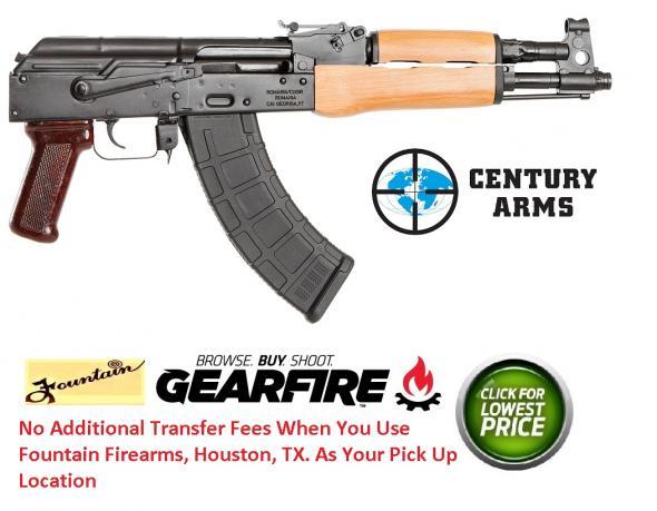 "CIA Romania Draco AK-47 Pistol 7.62x39mm 12.25"" Barrel 30 Rounds 💲💲Cash $659.95💲💲"