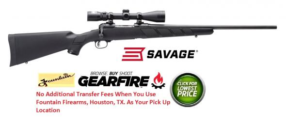 "Savage Trophy Hunter Bolt 308 Winchester 22"" Synthetic Black Matte 💲💲Cash $389.95💲💲"
