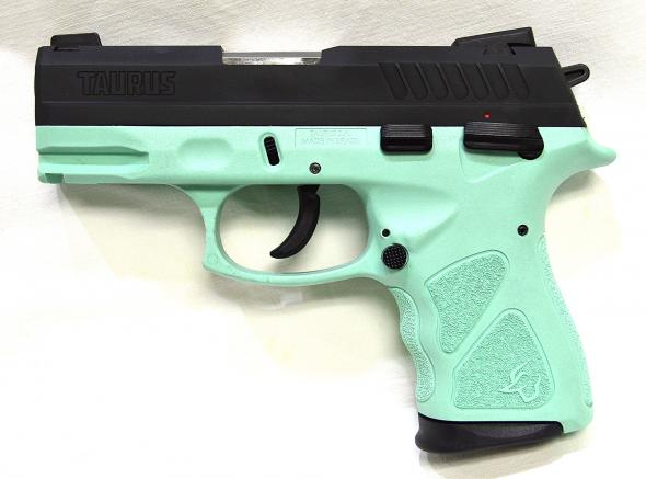 TAURUS TH9 COMPACT 9MM BLK/CYAN 17+1 **NEW**