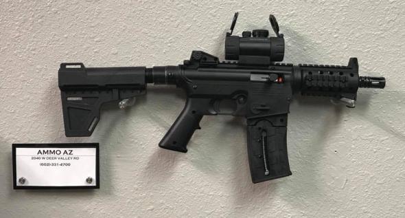 Ammo AZ | HK 416 PISTOL ADAPTER ANODIZED BLACK
