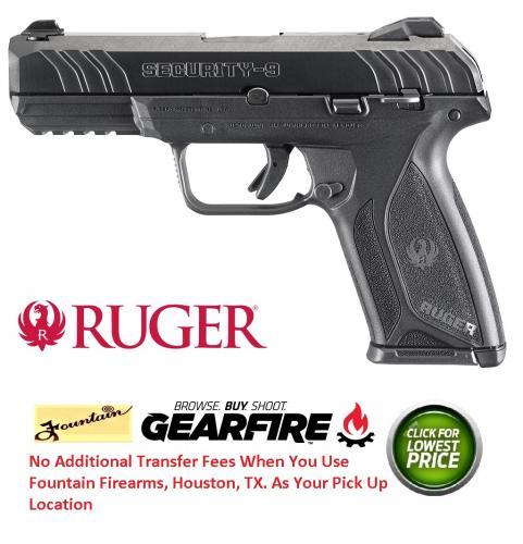 Ruger Security-9 9mm Luger 4 Inch Barrel Blue Finish Drift Adjustable 3-Dot Sights 15 Round💲💲Cash $319.95💲💲