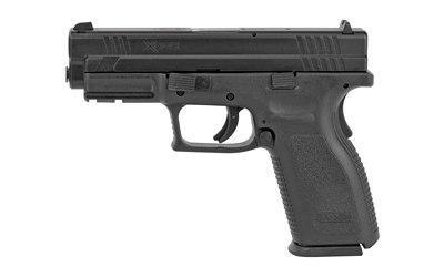 Crazy Gun Dealer Springfield Xd9 Defender Series Striker Fired Full Size 9mm 4 Barrel Polymer Frame Black Finish Fixed Sights 16rd 1 Magazine