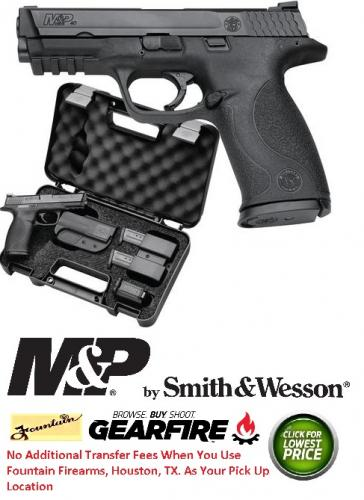 Smith & Wesson M&P Carry & Range Kit M&P .40 Smith & Wesson 4.25 Inch Barrel Includes Holster Magazine Pouch Earplugs 3 Magazines Speed Loader 10 Rounds